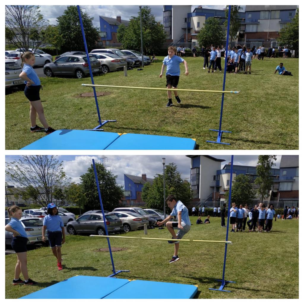 3rd and 4th Class Sports Day