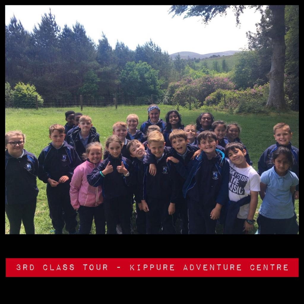 3rd Class Tour - Kippure Adventure Centre