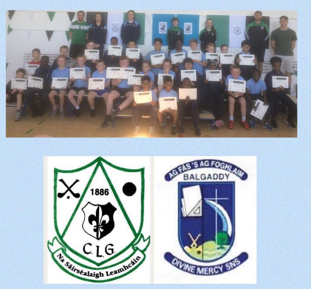 Lucan Sarsfields Endeavour Award winners 2018