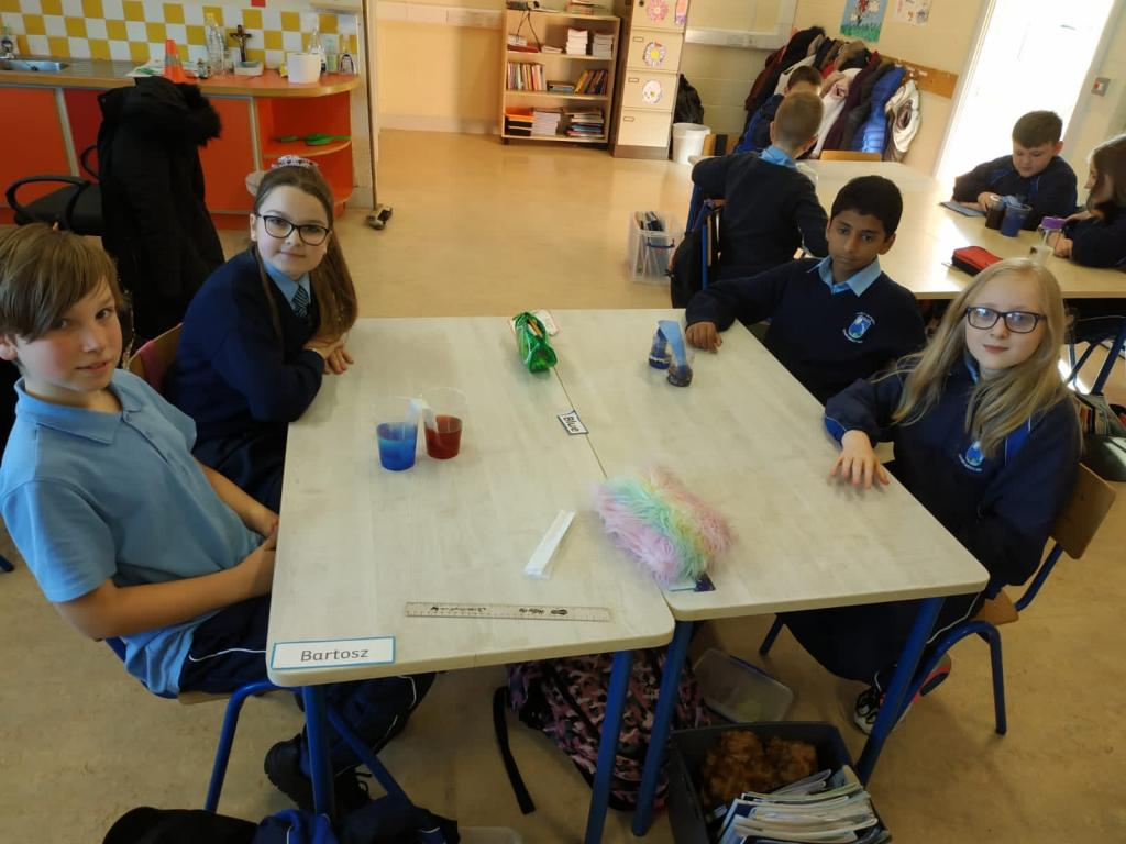 Room 14 - Science Week Experiment