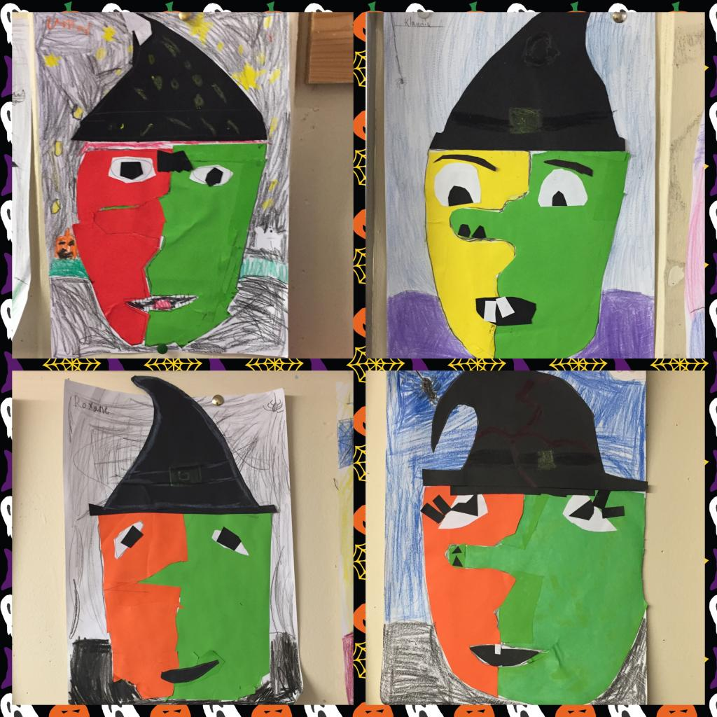 Halloween Art from around the rooms