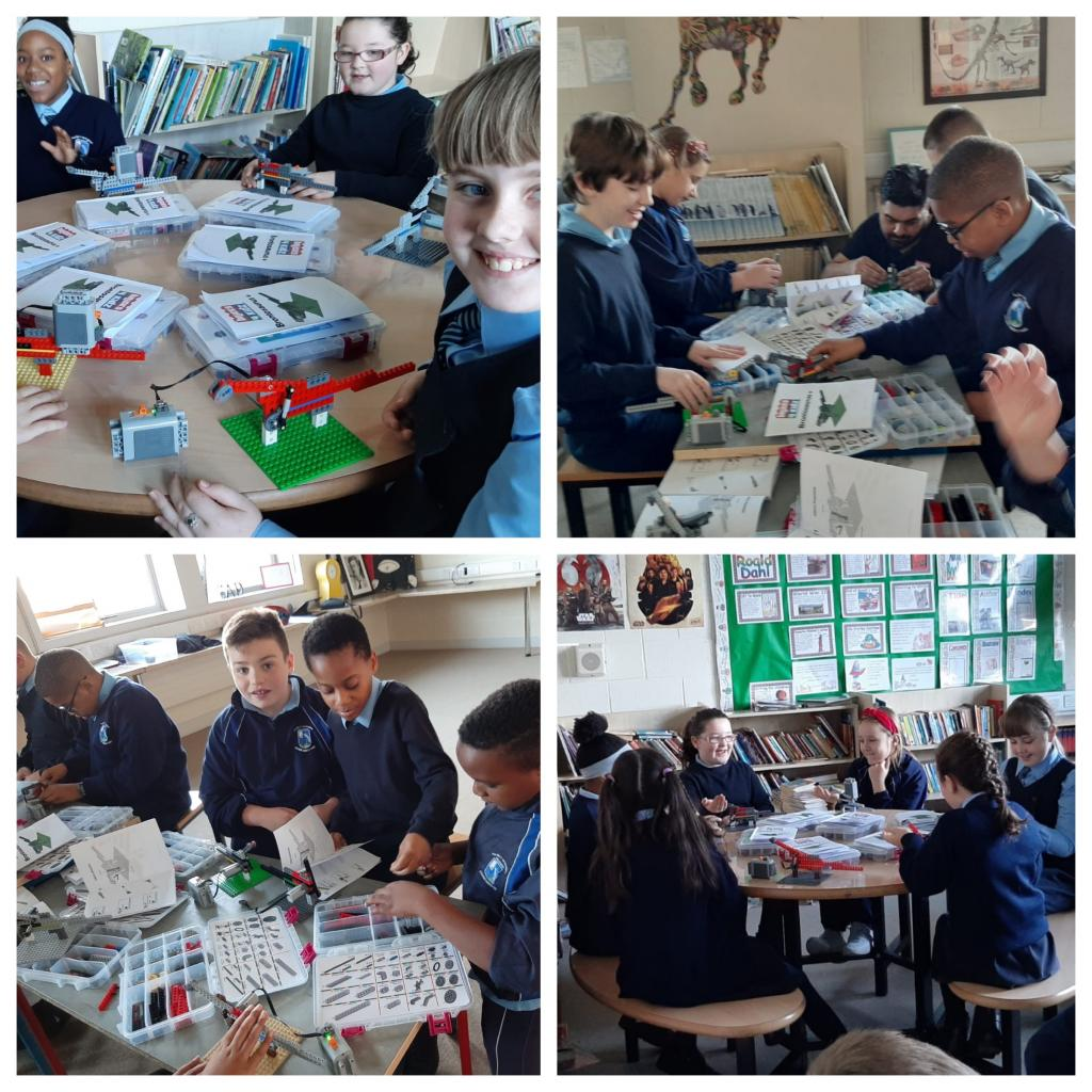 Science Week - 4th Class Lego Workshop
