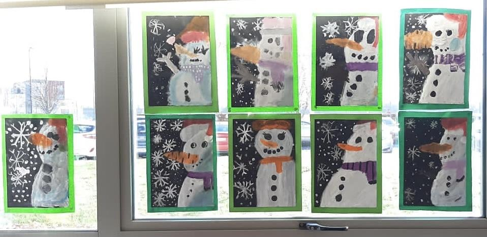 Room 2 - Snowmen and Maths games!