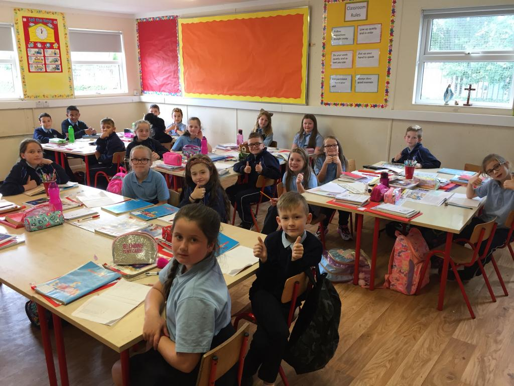 First full week for new 3rd Class Children
