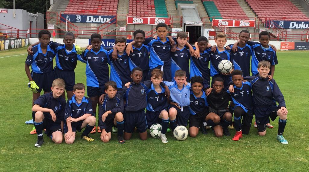 FAI Schools Dublin Primary - Senior Cup Final