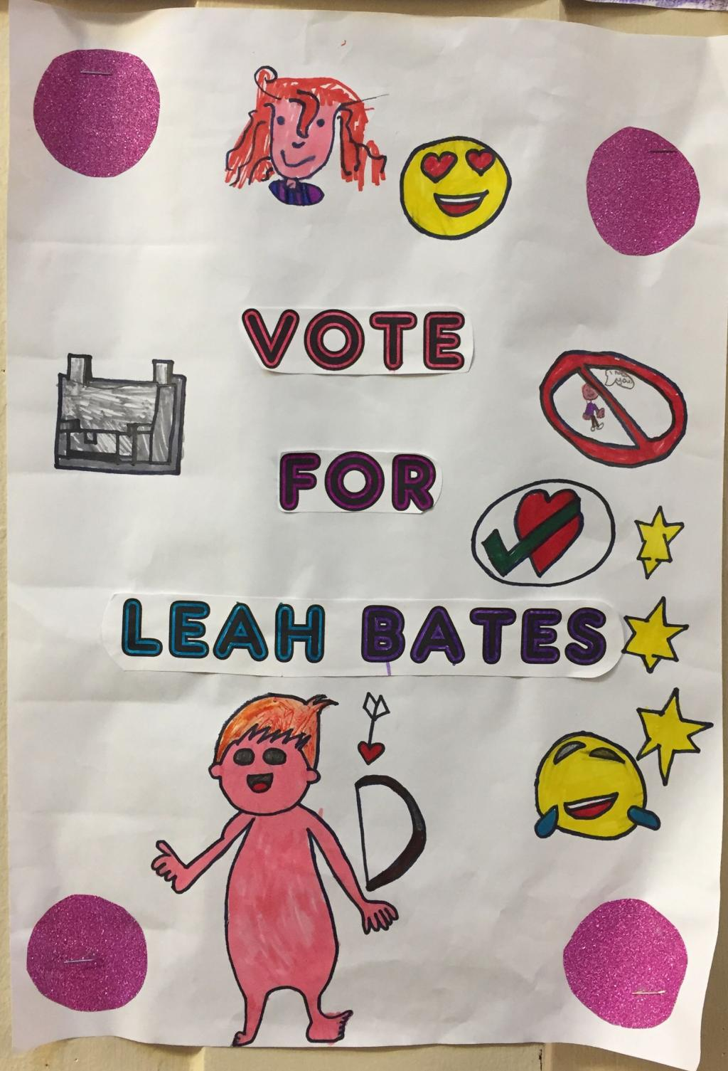 School Council 2018 - 3rd Class Election Posters 1/2
